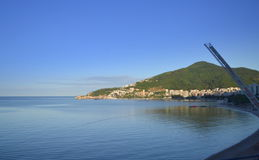 Budva bay view,Montenegro Royalty Free Stock Photos