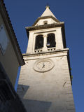 Budva bell tower Royalty Free Stock Photos