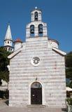 Budva church Stock Photography