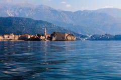Budva A cidade velha montenegro europa Imagem de Stock Royalty Free