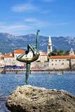 Budva dancer sculpture, Budva, Montenegro Royalty Free Stock Image