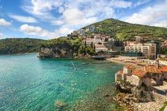 Budva em Montenegro imagem de stock