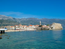 Budva fortress in Montenegro Royalty Free Stock Images