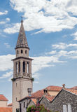 Budva gammal stad Royaltyfri Fotografi