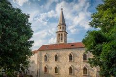Budva historical center Royalty Free Stock Image