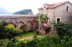 Budva house. Montenegro, Budva, house, travel, holiday Stock Photography