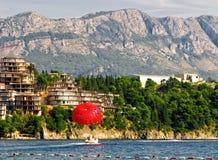 budva krajobrazowy Montenegro zdjęcie stock