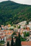 Budva, Monténégro, la vue du gratte-ciel dans le c Photo stock