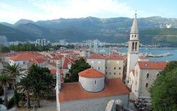 Budva Montenegro Royaltyfria Bilder