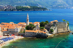 Budva, Montenegro Royalty-vrije Stock Afbeeldingen