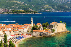 Budva, Montenegro royalty-vrije stock afbeelding