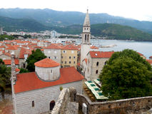 Budva Montenegro Immagini Stock