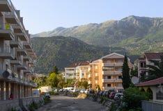 Budva montenegro stockbild