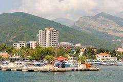 Budva in Montenegro Stockbild