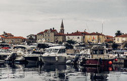 Budva, Montenegro Foto de archivo