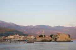 Budva, Montenegro Foto de Stock Royalty Free