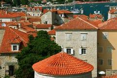 Budva. Montenegro Royaltyfri Foto