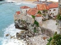 Budva Montenegro. Old city city view Royalty Free Stock Photos