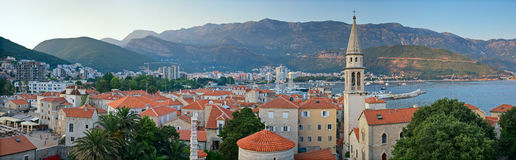 Budva Montenegro old town Stock Images