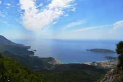 Budva, Montenegro. One of the most beautifull places i`ve been Stock Image