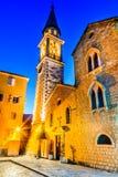 Budva, Montenegro - Sveti Ivan church royalty free stock photos