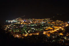 Budva at night Stock Photos