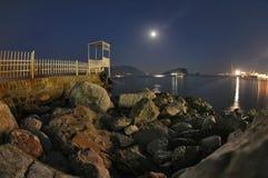 Budva - night shot Stock Images