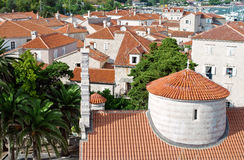 Budva. Old city Stock Images