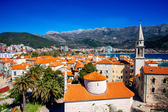 Budva old city Stock Image