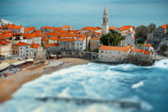Budva old city Royalty Free Stock Images