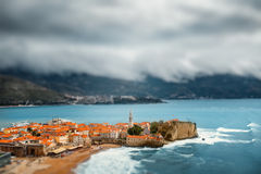 Budva old city Stock Photos