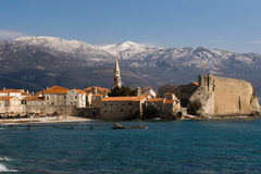 Budva old town Stock Images