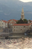 Budva Old Town Bay Stock Image