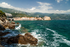 Budva old town Stock Photo