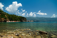 Budva old town Stock Image