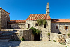 Budva old  town castle Stock Image