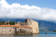 Budva old town. Fortress by the sea Royalty Free Stock Photo