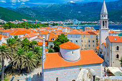 Budva old town Royalty Free Stock Photos