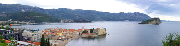 Budva old town, Montenegro Stock Photo