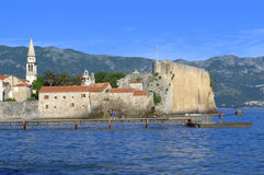 Budva Old Town,Montenegro Royalty Free Stock Photo