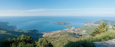 Budva riviera Royalty Free Stock Photography