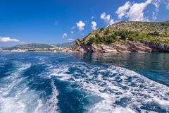 Budva Riviera in Montenegro Stockfotografie