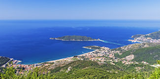 Budva Riviera. Is Montenegro's sight, Europe, summer Royalty Free Stock Photos