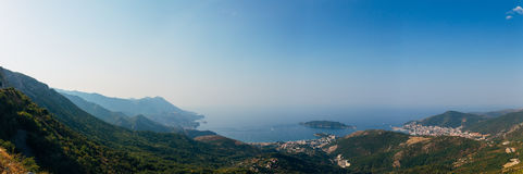 The Budva Riviera in Montenegro Royalty Free Stock Images