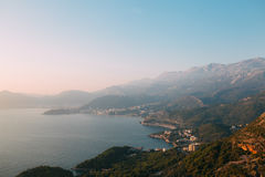 The Budva Riviera in Montenegro Royalty Free Stock Image