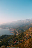 The Budva Riviera in Montenegro Royalty Free Stock Photography