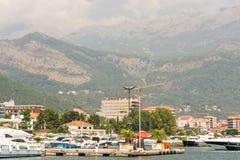 Budva by the sea, Montenegro Royalty Free Stock Photos