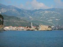 Budva-Stadt in Montenegro Lizenzfreies Stockfoto