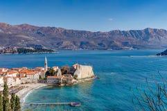 Budva stary Miasteczko, Montenegro fotografia stock