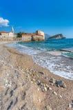 Budva stary Miasteczko, Montenegro fotografia royalty free